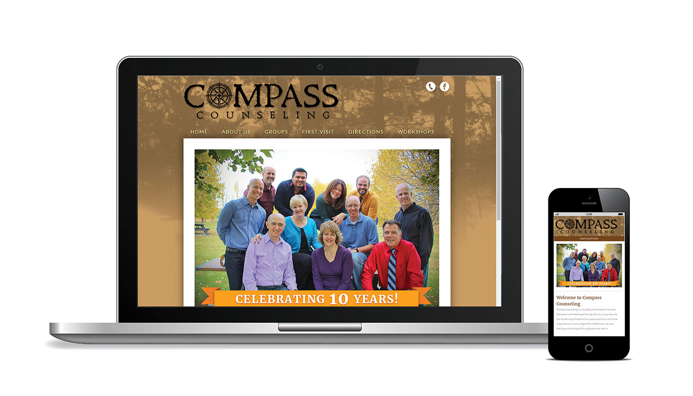 Compass Conseling Website