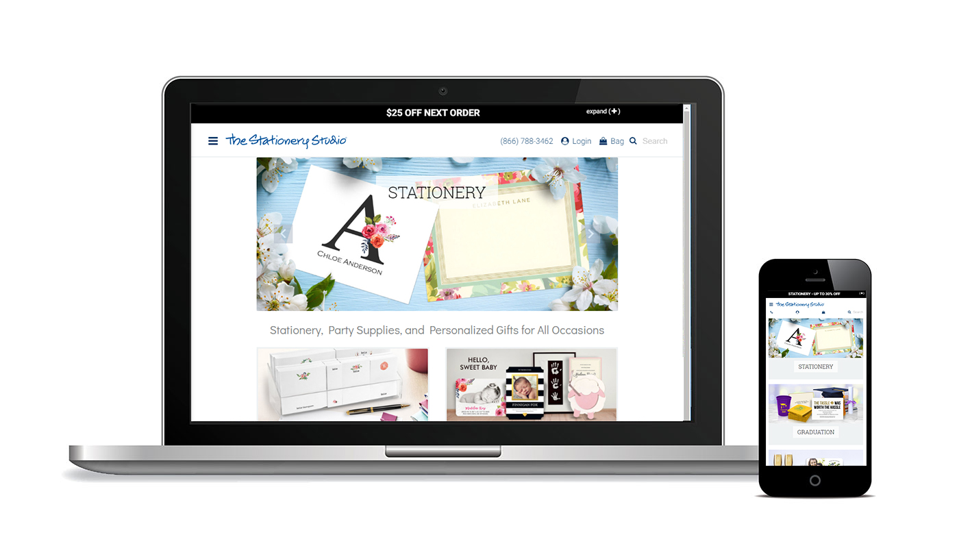The Stationery Studio Website